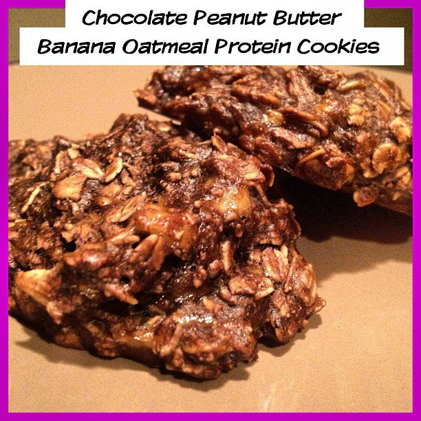 ... Oatmeal Banana Peanut Butter Protein Cookies   Allison Tibbs Fitness