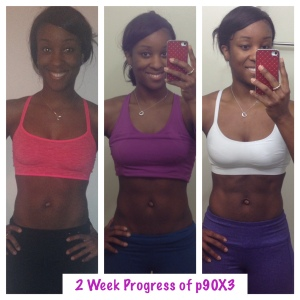 P90X3 Results 2 Weeks